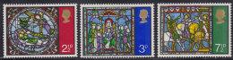 3537. Great Britain (England), 1971, Christmas, MNH (**) Michel 587-589 - 1952-.... (Elizabeth II)