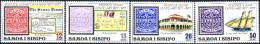 ( 1611 ) Samoa I Sisifo - Postage Stamps Centenary - Ship  .