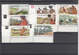 Transkei 1976 -- 1981 ** - 7 Scan - Transkei