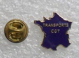 TRANSPORTS  CGT CARTE DE FRANCE      VVV  038 - Transportation