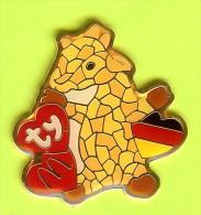 Pin Mac Do McDonald´s Ty Teenie Beanie Babies Girafe (Allemagne RARE) - 3W25 - McDonald's