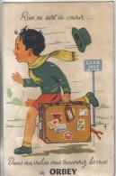 Carte Postale à Système 88. Orbey  Dépliant 10 Vues  Trés Beau Plan - Cartoline Con Meccanismi