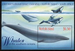 Norfolk - BF30 Baleines ** (whales) - Norfolk Island