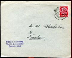 79863 - 1 TP Surchargé ALSACE, Tarif  12 Pf, Cad HAGUENAU (Els) 2 1941 Avec Cachet TB - Marcophilie (Lettres)