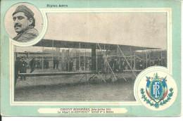 Avion Biplan Astra 1911 Départ De Contenet Arrivée A Reims - Ohne Zuordnung