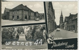 Ascheberg V.1964  Lebensmittelgeschäft A.Mangela,Hauptstrasse Mit Kirche,Ehrenmal  (7567) - Ascheberg
