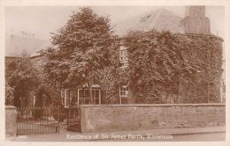 KIRRIEMUIR - RESIDENCE OF SIT JAMES BARRIE - Angus