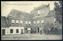 Cpa  Des Pays Bas Veere - Sociëteit Belvedère ( Kampveerche Toren )     SEPT8 - Veere