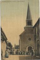 ST CYR DU GAULT . PLACE DE L'EGLISE - France