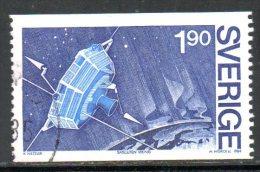 SUEDE N°1287 Oblitéré De 1984. Projet De Satellite Viking. - Space