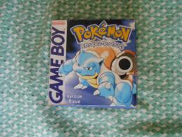 COLLECTOR JEU  POKEMON VERSION BLEUE - Nintendo Game Boy