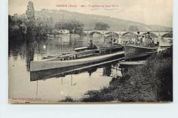 VERNON - Torpilleur Et Sous-marin. - Guerre