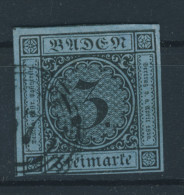 Baden Michel No. 8 gestempelt used
