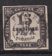 FRANCE TAXE 1863 YT N° 3 OBL COTE 15.00€ - 1859-1955 Oblitérés