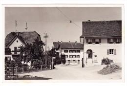 AK ZH Aeugst A. Albis Dorfplatz Ges. 22.6.1939 Nach Au Foto Guggenheim - ZH Zurich