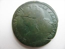 2 Sols 1793 BB  : Flan De 32 à 33 Mm Poids 14g? - 1789 – 1795 Monedas Constitucionales