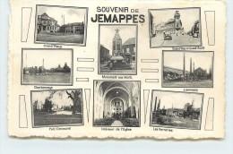 SOUVENIR DE JEMAPPES - Carte Multivues. - Mons