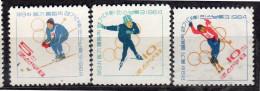 1964 Sports Olympic Winter Games  MNH Set Mi 535-7  (k424) - Corea Del Norte