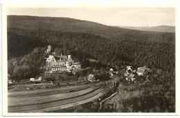 AK SW Ansichtskarte, 2 Scans, 1950 Reichsbahn-Kinderheilstätte Elisabethenberg Waldhausen B. Schorndorf Nr. 5468 - Schorndorf
