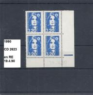 CD4 De 1990  Neuf** Y&T N° CD 2623 Daté 19.4.90 - Ecken (Datum)