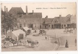 58 - Nièvre - Dornes Place Du Champ De Foire Marché - France
