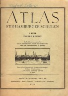 German Atlas 1955 - Für HAMBURGER Schulen - Hambourg Cartes Et Plans - 1. Teil Unsere Heimat - Livres Scolaires