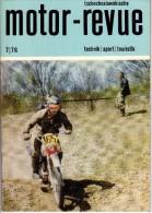Tsch�koslovaquie - Tschechoslowakische - MOTOR-REVUE - Juillet 1976 - Technik, Sport, TOURISTIK