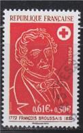 = 150 Ans De La Croix Rouge Française Issu Du Bloc Souvenir 95 Oblitéré Type Du Timbre 1736 De 1972 - Gebraucht