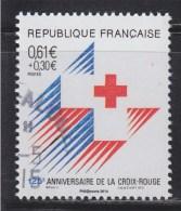 = 150 Ans De La Croix Rouge Française Issu Du Bloc Souvenir 95 Oblitéré Type Du Timbre 2555 De 1988 - Gebraucht