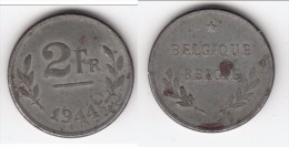 **** BELGIQUE - BELGIUM - 2 FRANCS 1944 **** EN ACHAT IMMEDIAT - 1934-1945: Leopold III