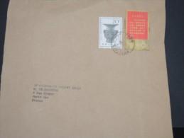 CHINE 1967 -  N° 967 Et 817 Sur Grand Fragment  - RARE - Lot N° 9101 - 1949 - ... People's Republic