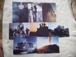 LOT DE 8 Cartes ..JEUNES ..MODE ET TRANSPORT PAR VOIE FERREE - 5 - 99 Postcards