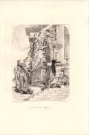 Glorification De La Loi - Eau-forte D´après Paul BAUDRY (La Roche-sur-Yon 1828 - Paris 1886) - FRANCO DE PORT - Stampe & Incisioni