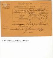 PAU CHAUMERGY - 1915 - HOPITAL AUXILIAIRE - BULLETIN DE SANTE D UN MILITAIRE EN TRAITEMENT - MUZILLARD - 35 EME REGIMENT - Documents