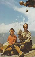 Nepal - Sherpa Boys At Thangboche Monastery 1966 Nice Stamps - Nepal