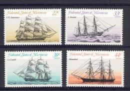 MICRONESIE 1985 YT 26 +PA7/9   BATEAUX HISTORIQUES - Micronésie