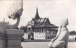 Cambodia - Phnom Penh Real Photo Postcard - Nice Stamps - Cambodge