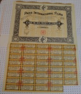 Paris International Films, Stts à Villiers Le Bel - Cinéma & Théatre