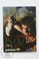 Adidas Basketball, Advertising  Sticker - 10.5 X 7.5 Cm - Adesivi