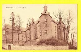 * Ecaussinnes Lalaing (Hainaut - La Wallonie - Charlerloi - Mons) * (Edition Belge) Chateau Fort, Kasteel, Rare, Old - Ecaussinnes