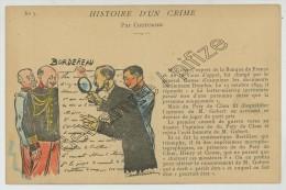 Affaire Dreyfus. Histoire D'un Crime Par Couturier. Illustrateur. N° 3. M. Gobert, Expert De La Banque De France. - Evènements