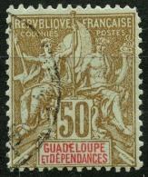 Guadeloupe (1900) N 44 (o) - Oblitérés