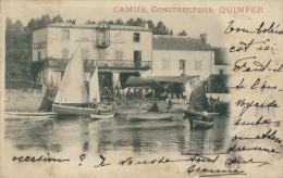 29 QUIMPER / Camus, Constructeur Quimper / - Quimper