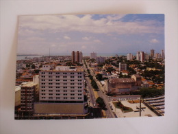 Postcard/Postal - Brasil - Natal -  Vista Parcial Do Centro E Avenida Prudente De Morais - Natal