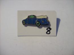PIN´S - COCCINELLE - Vw Vert Decapottable     (8) Voir Photo - Volkswagen