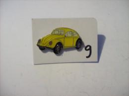 PIN´S - COCCINELLE - Vw  Jaune     (9 ) Voir Photo - Volkswagen