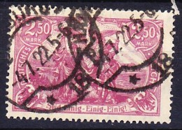 ALLEMAGNE - EMPIRE 1920 YT N° 115 Obl. - Usati