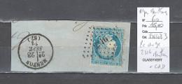 France  Obliteration  Petit Chiffre Du  Gros Chiffre - 2316 Menton Dans Les Alpes Maritimes - Poststempel (Einzelmarken)