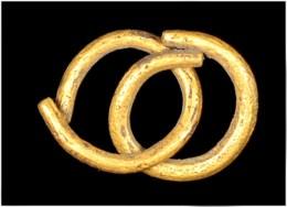 Celtic Gold Votive Rings - Archéologie