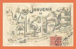 A494 / 641 26 - Souvenir De VALENCE Multivues ( Timbre Taxe ) - Sin Clasificación